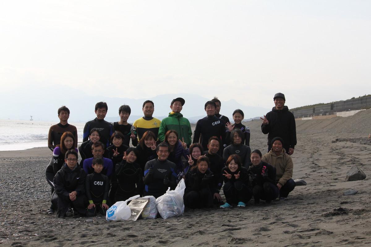 海岸清掃活動